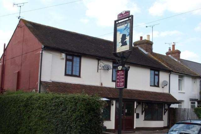The former Churchill pub in Canterbury Road, Ashford. Picture: Allan King, Lost Pubs Project