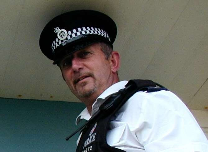 Colin Wraight served as a police officer