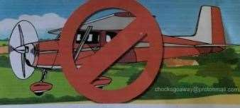 Image from a public notice from Chocks Go Away. Picture Chocks Go Away