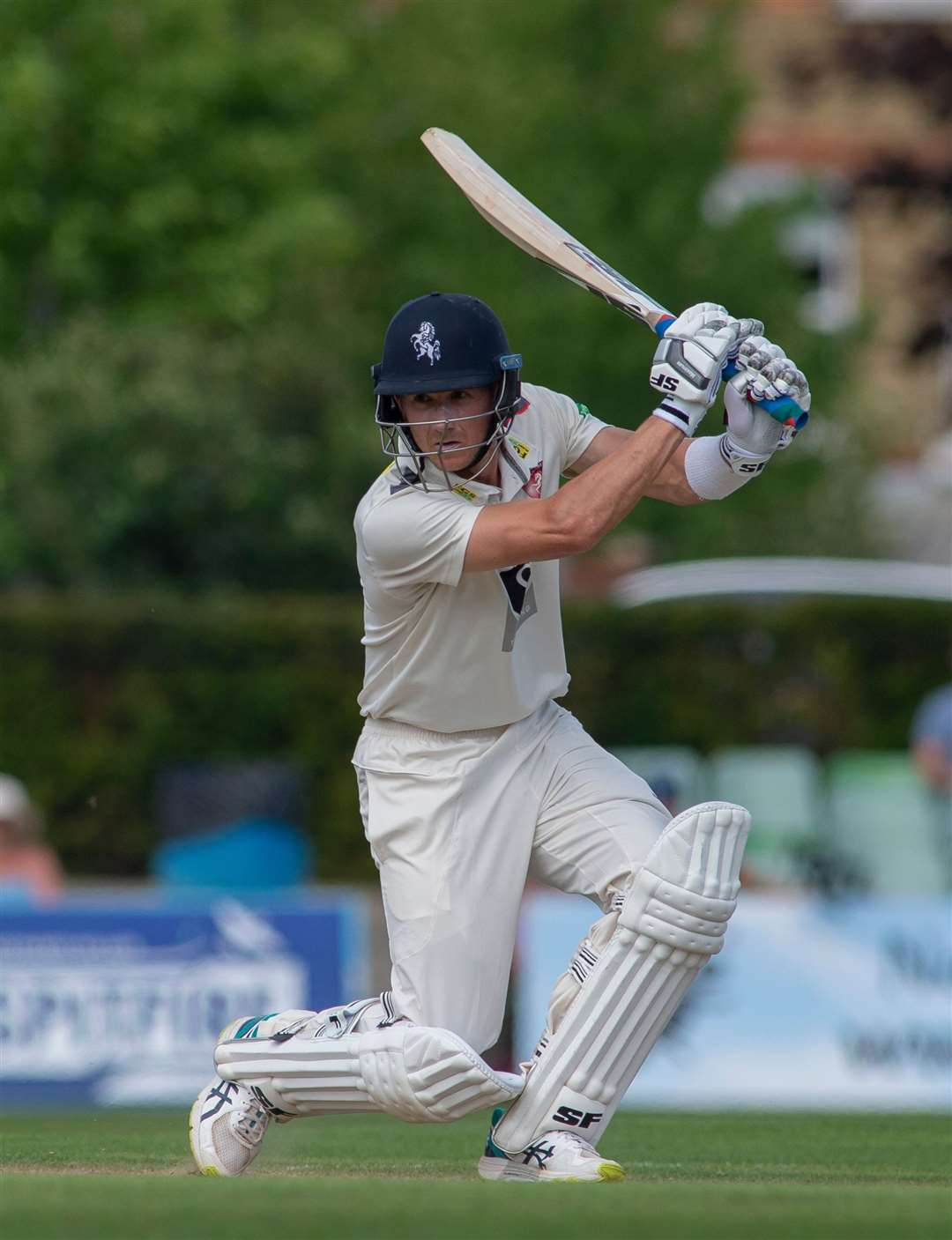 Joe Denly featuring for Kent against Warwickshire this season. Picture: Ady Kerry