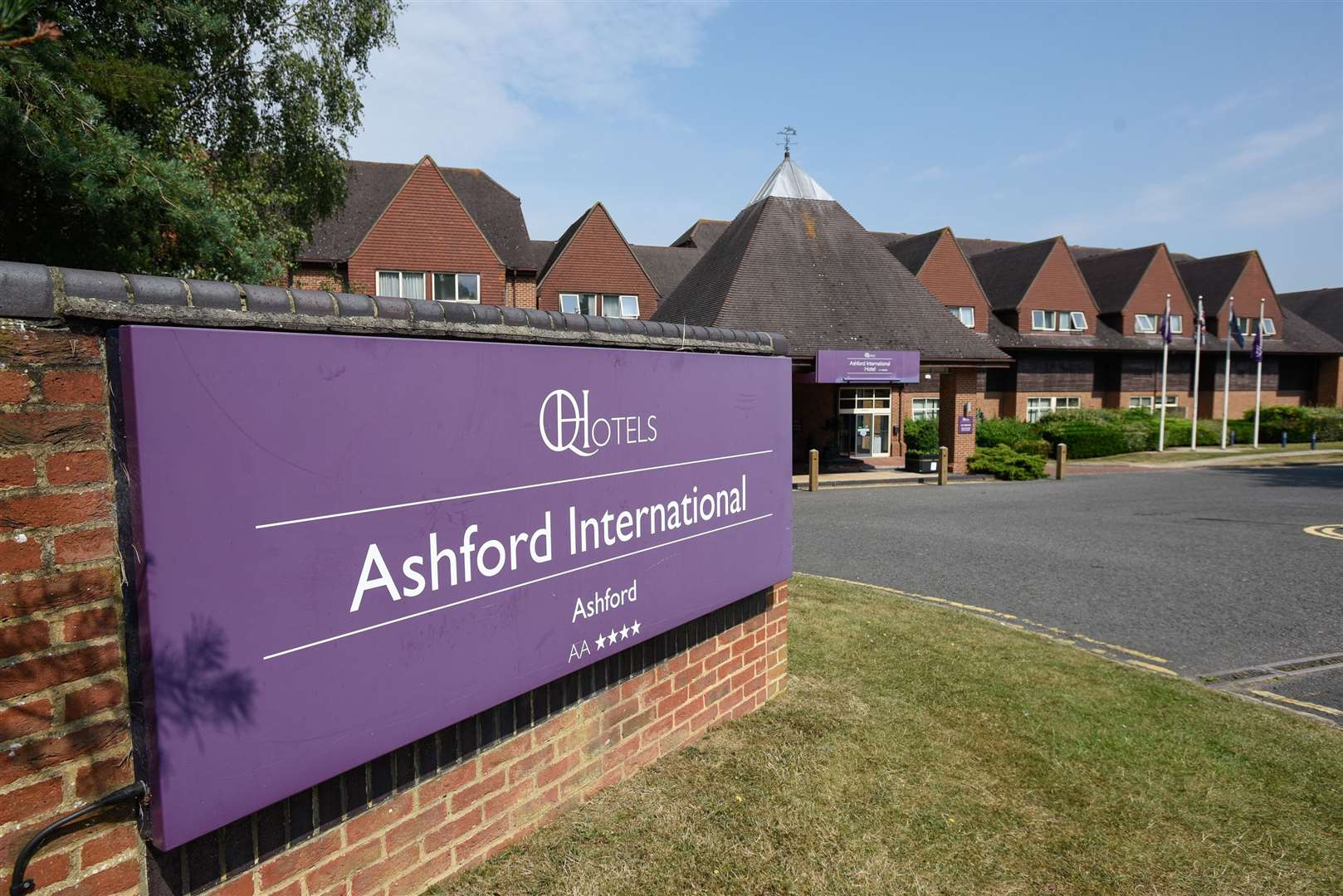 Ashford International Hotel hosted the event