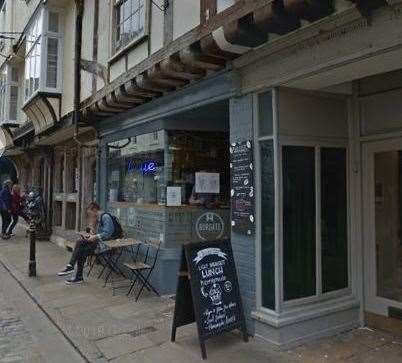 Burgate Coffee House in Burgate, Canterbury. Picture: Google Street View