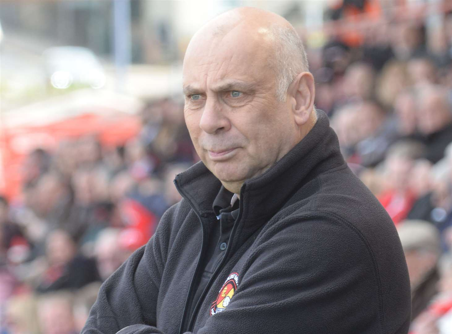 Ebbsfleet manager Garry Hill. Picture: Chris Davey