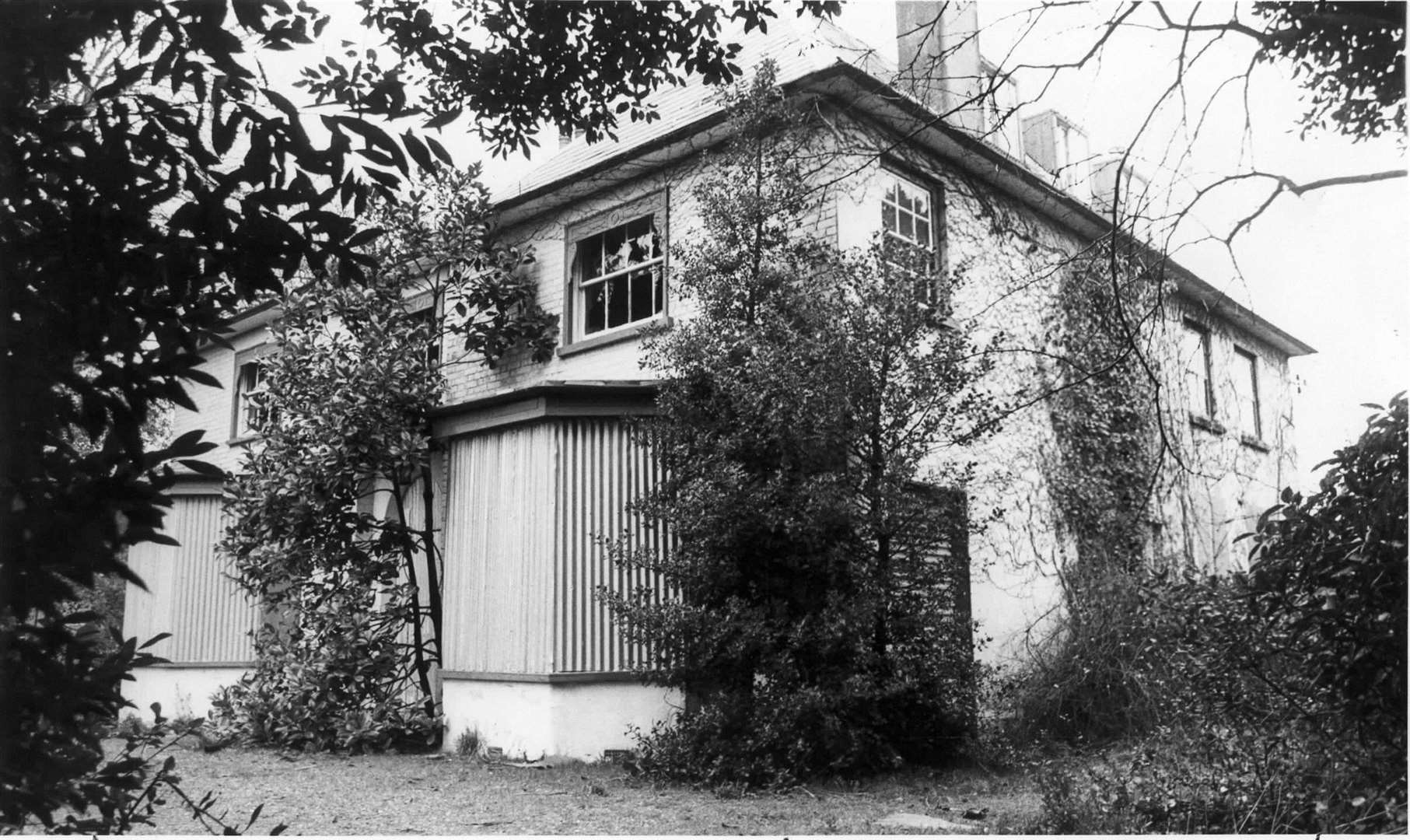 In this picture from 1980, Macklands House in Lower Rainham, which once belonged to Sir John Hawkins