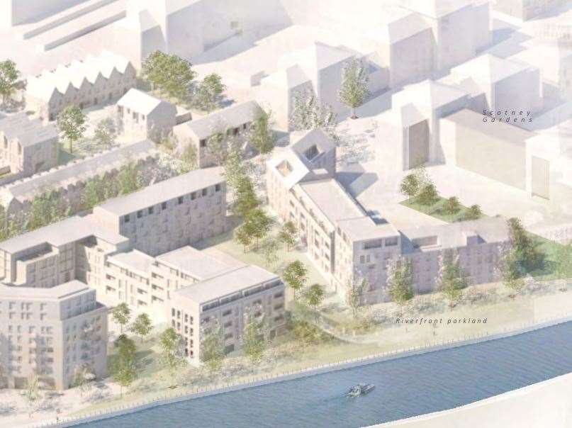 Maidstone Borough Council S 1 000 Home Plan For Len House Broadway Shopping Centre Powerhub And Town Centre