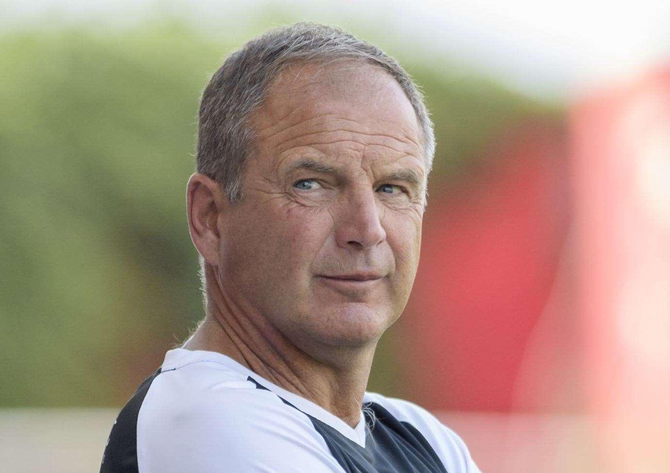 Ebbsfleet United director of football Steve Lovell Picture: Andy Payton