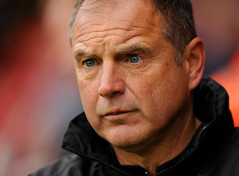Gills manager Steve Lovell Picture: Ady Kerry