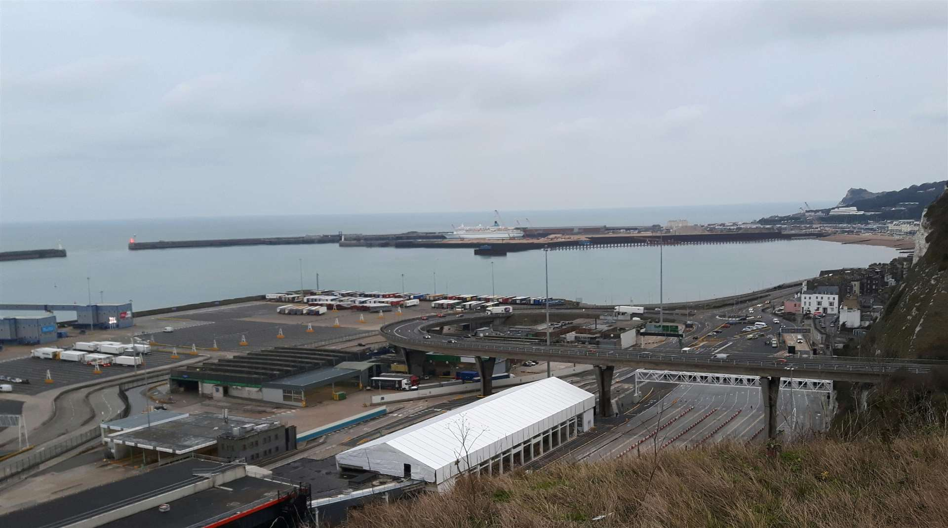 Dover Eastern Docks and harbour