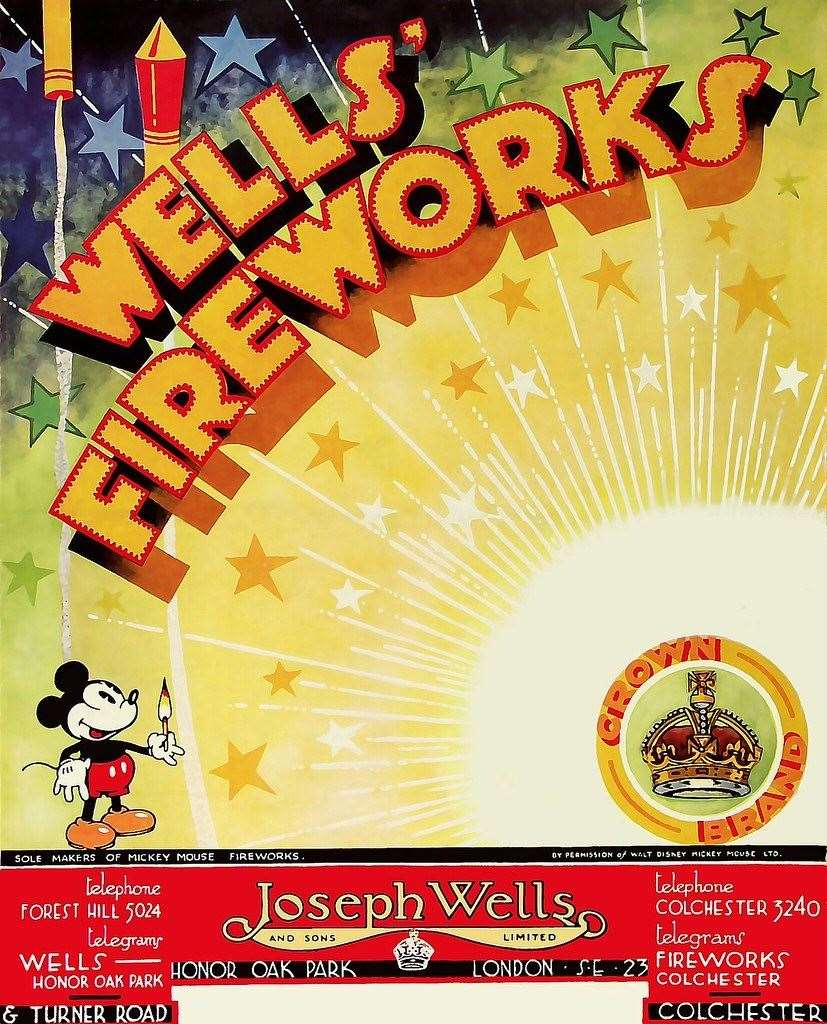 The Wells Firework brand was used all over the UK Photo: Epic Fireworks/Flickr (20801321)