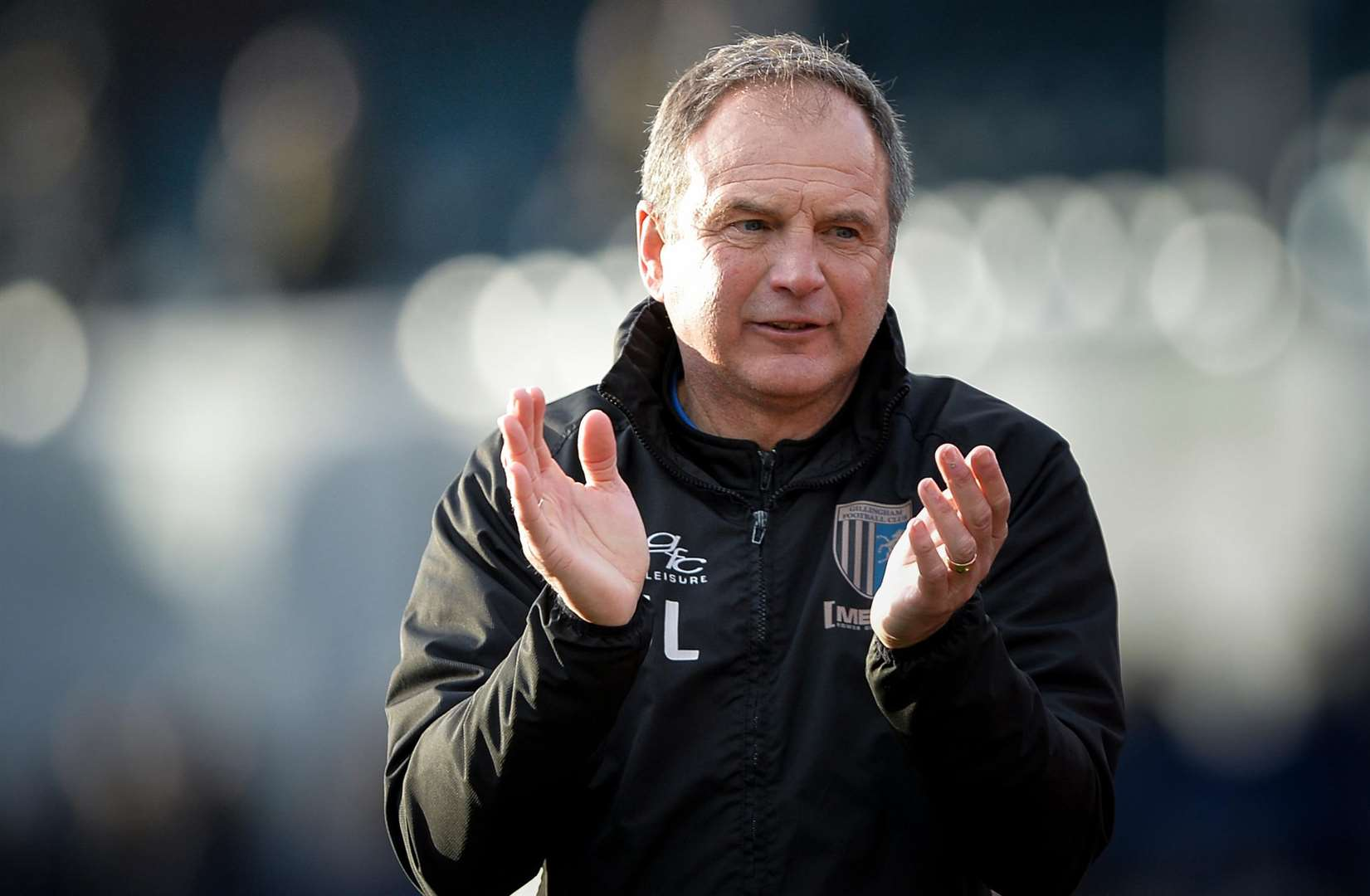 Gillingham manager Steve Lovell Picture: Ady Kerry