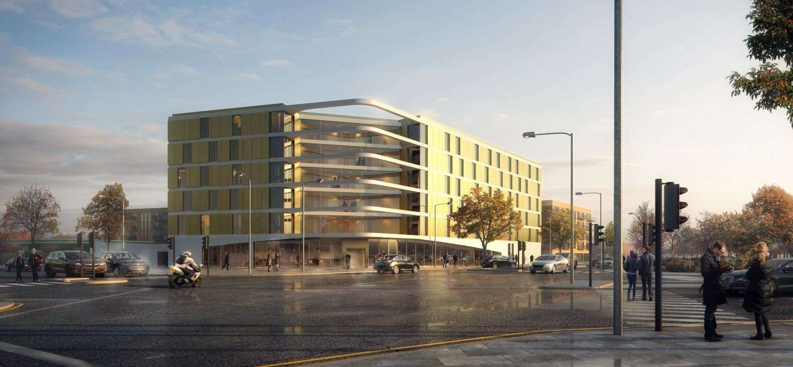 This image released to KentOnline shows how the 140-bedroom hotel is set to look