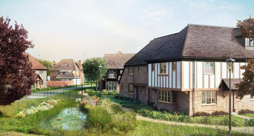 The Orchard Gate development near East Malling