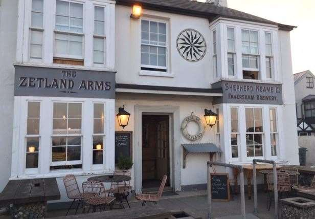 Unfortunately the nearby Zetland Arms was closed for a private party