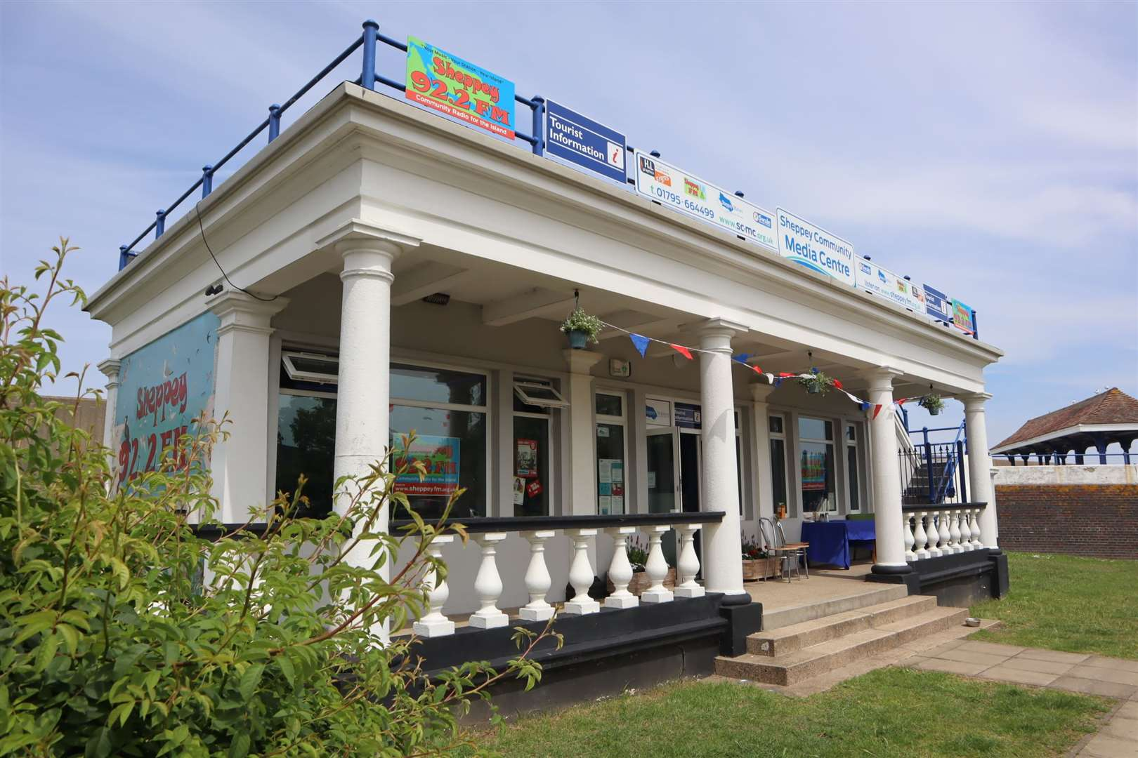 The new Tourist Information Centre in Sheerness. Picture: John Nurden