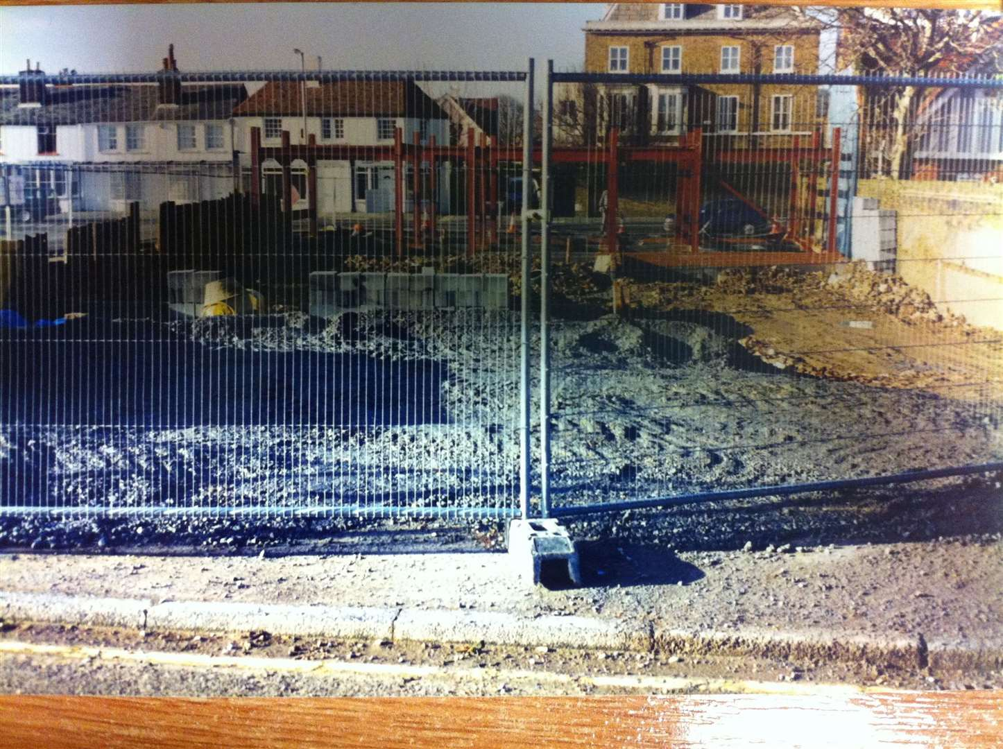 The Royal Marines swimming pool in Deal was demolished to make way for Cedars Surgery
