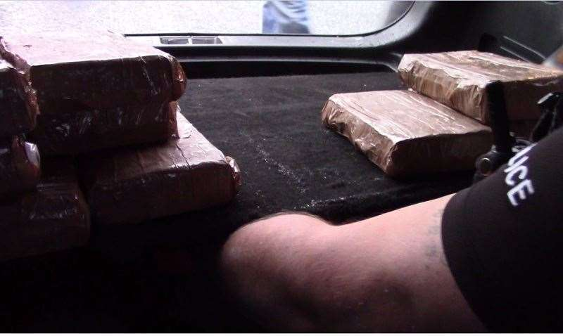 15kg of cocaine were found in the car