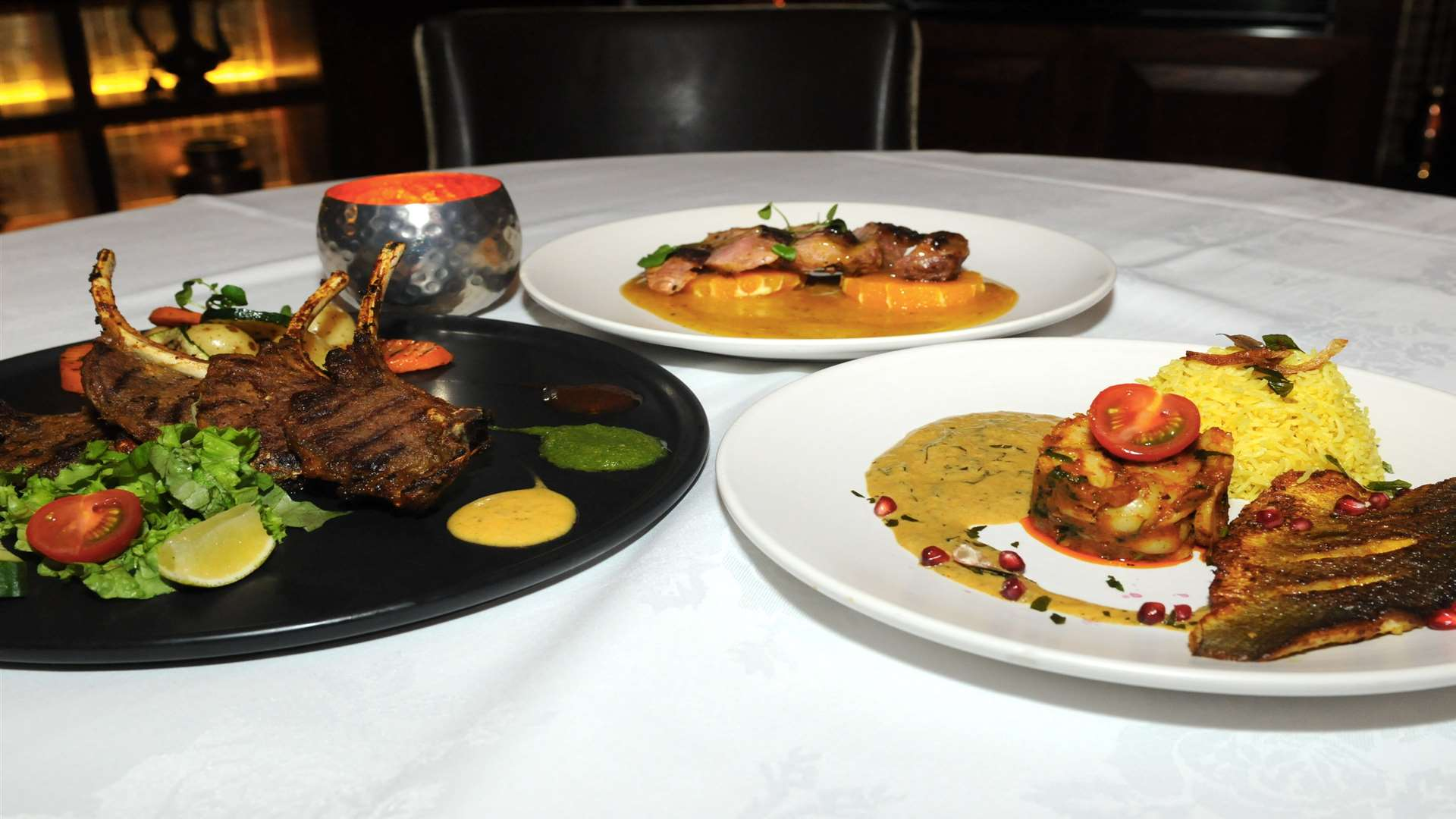 The Shozna menu is packed with tempting Indian and Bangladeshi dishes