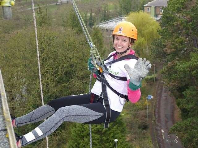 The KM Charity Team's Winter Abseil takes place on Saturday, October 5