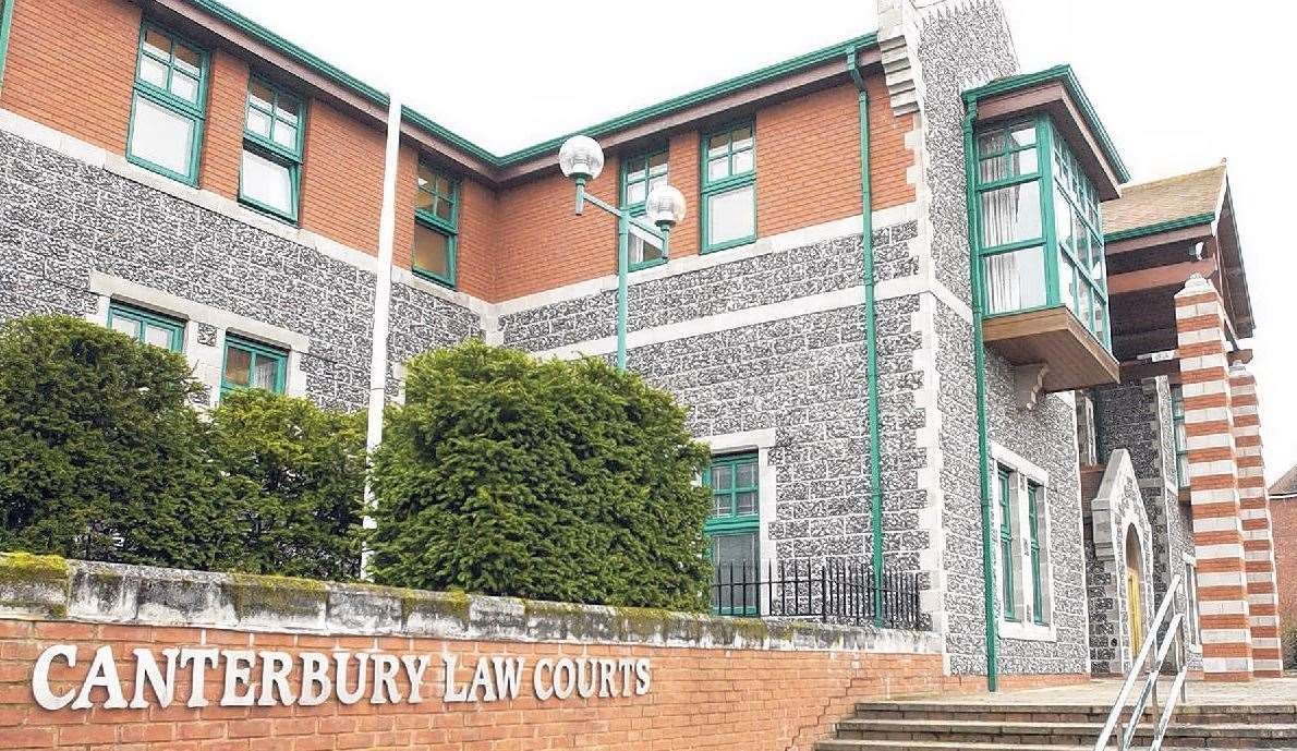 Lee is on trial at Canterbury Crown Court