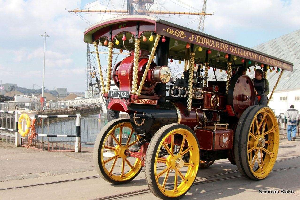 Chatham Historic Dockyard's Festival of Steam and Transport was not able to go ahead during lockdown