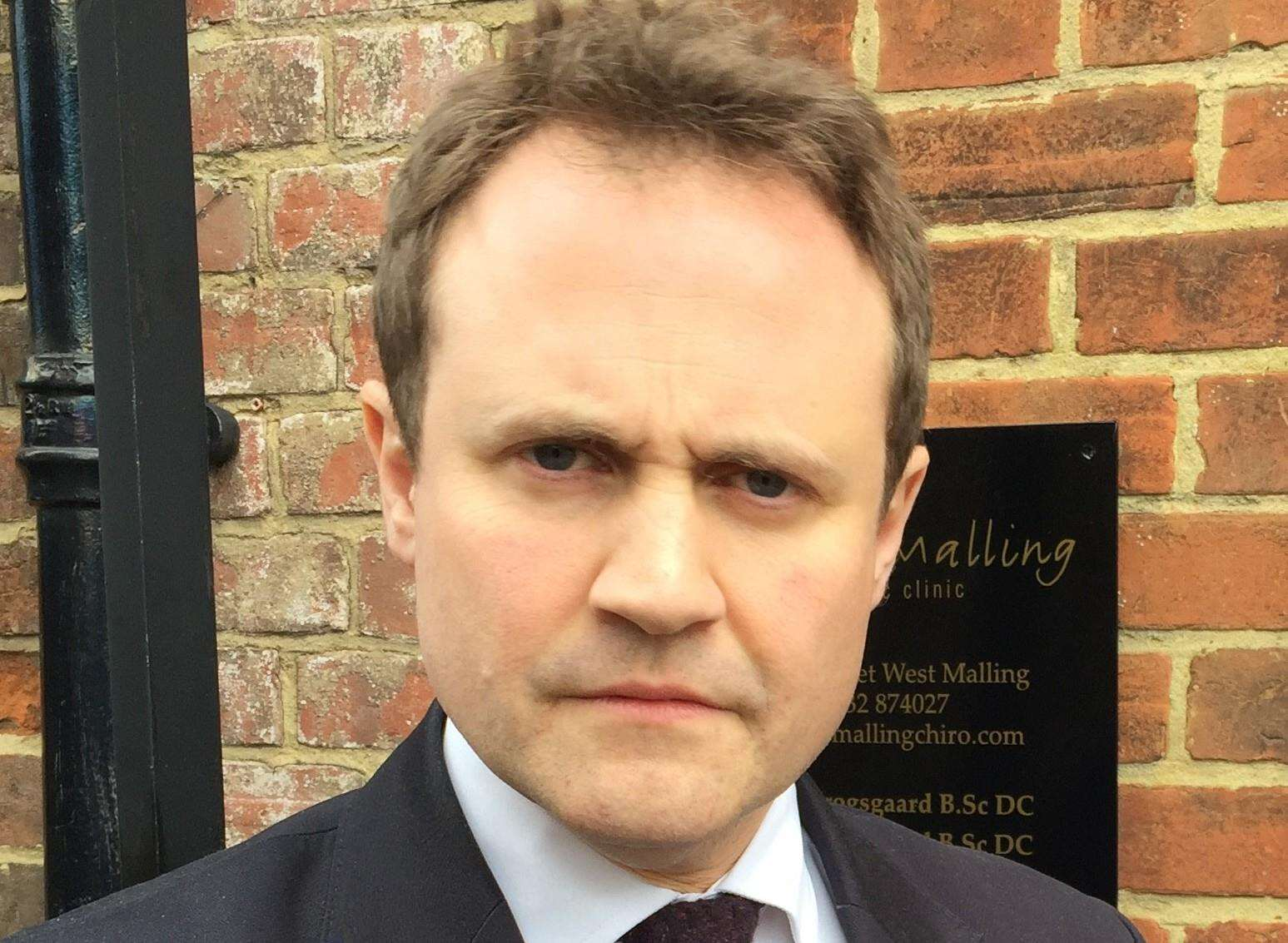 "Tom Tugendhat is ""demanding answers"" over the planned closure"