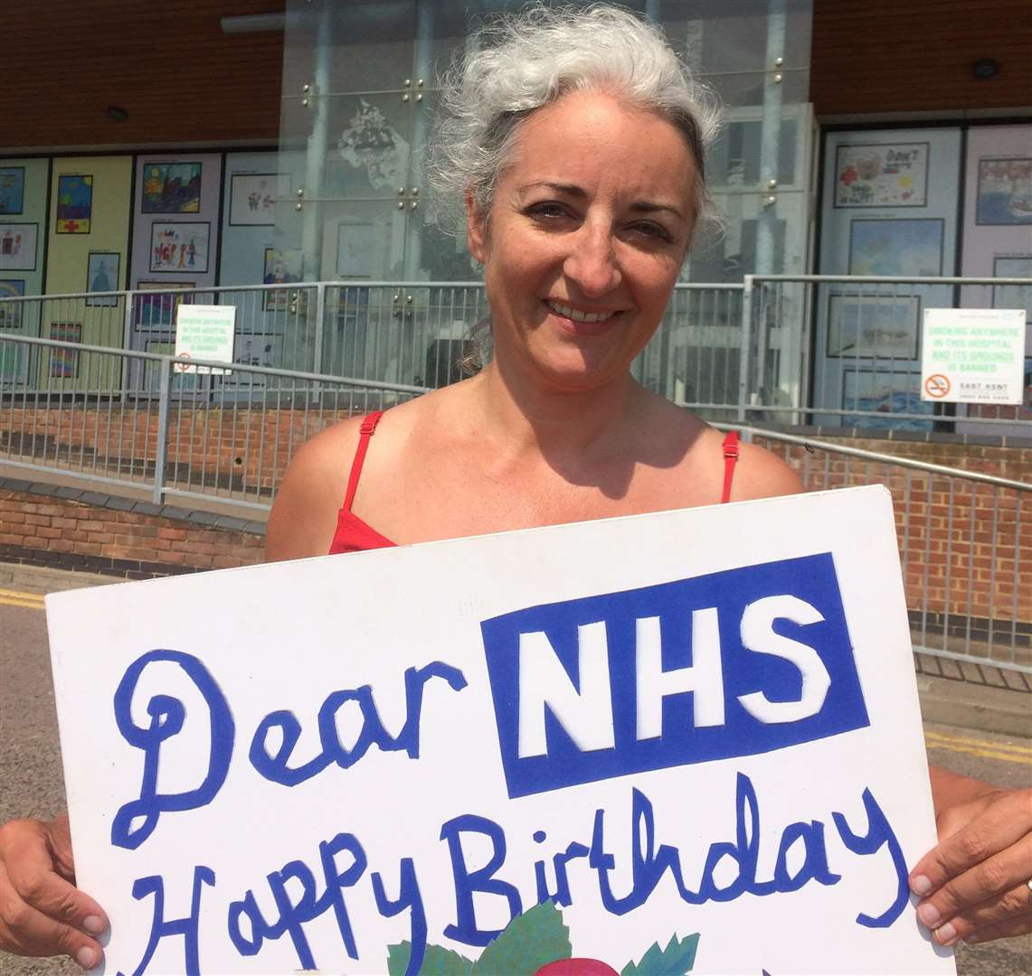 Dr Gordon-Nesbitt is trying to raise £3.600 to challenge the Labour Party's decision to pull her as the parliamentary candidate for South Thanet (6459251)