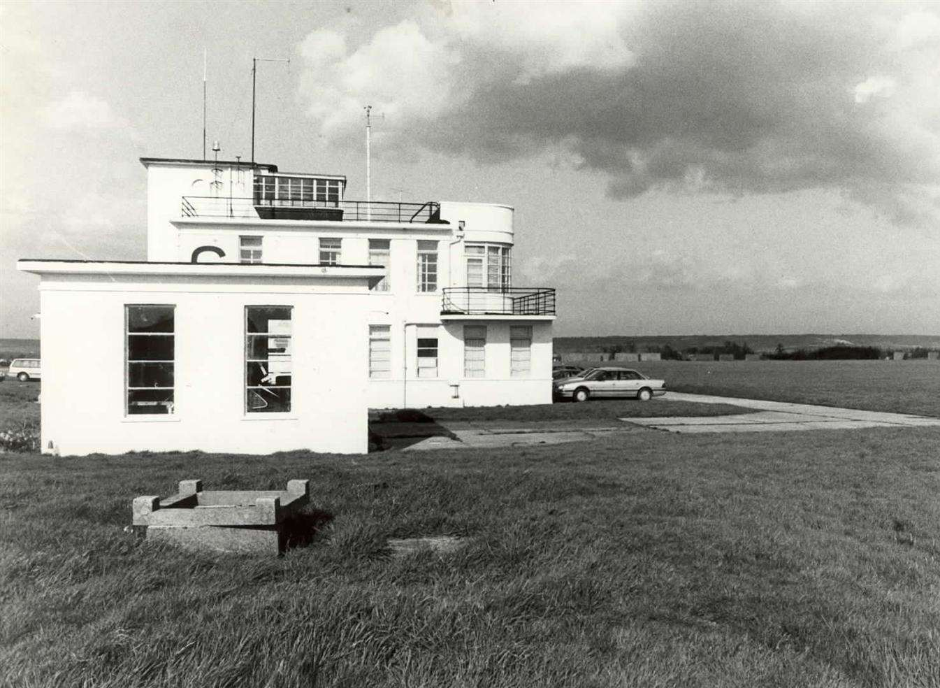 Former West Malling Airfield Control Tower In Alexander