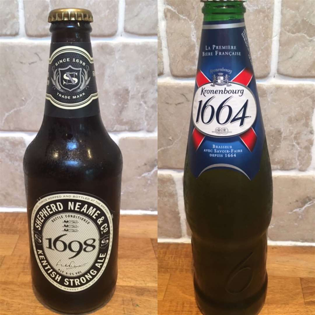 First place went to the UK with Shepherd Neame's 1698, a worthy winner. Right, just missing out on top spot was Kronenbourg's 1664, a very creditable second for France