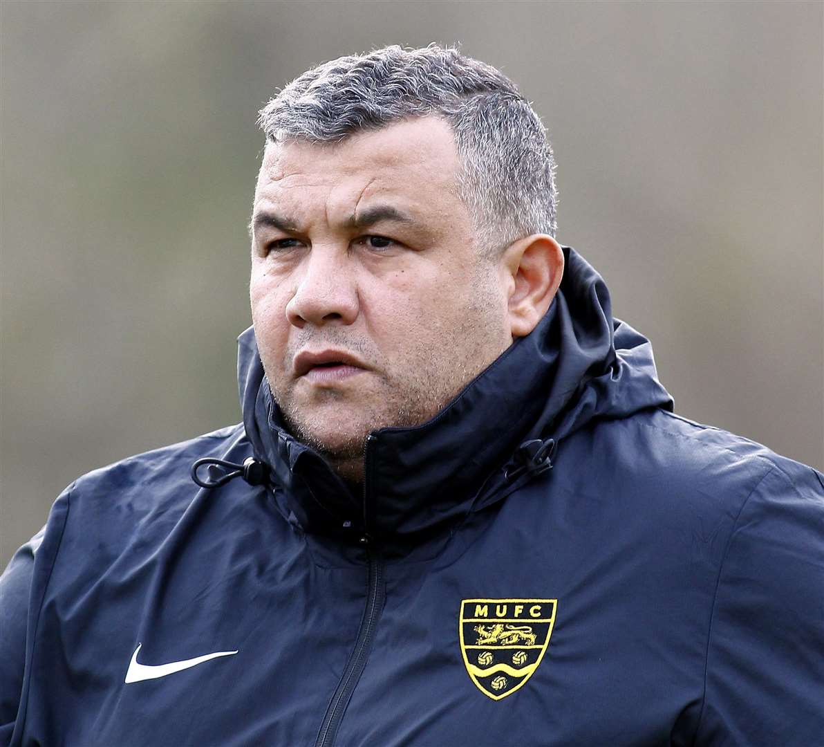 Maidstone United head coach Hakan Hayretin Picture: Sean Aidan