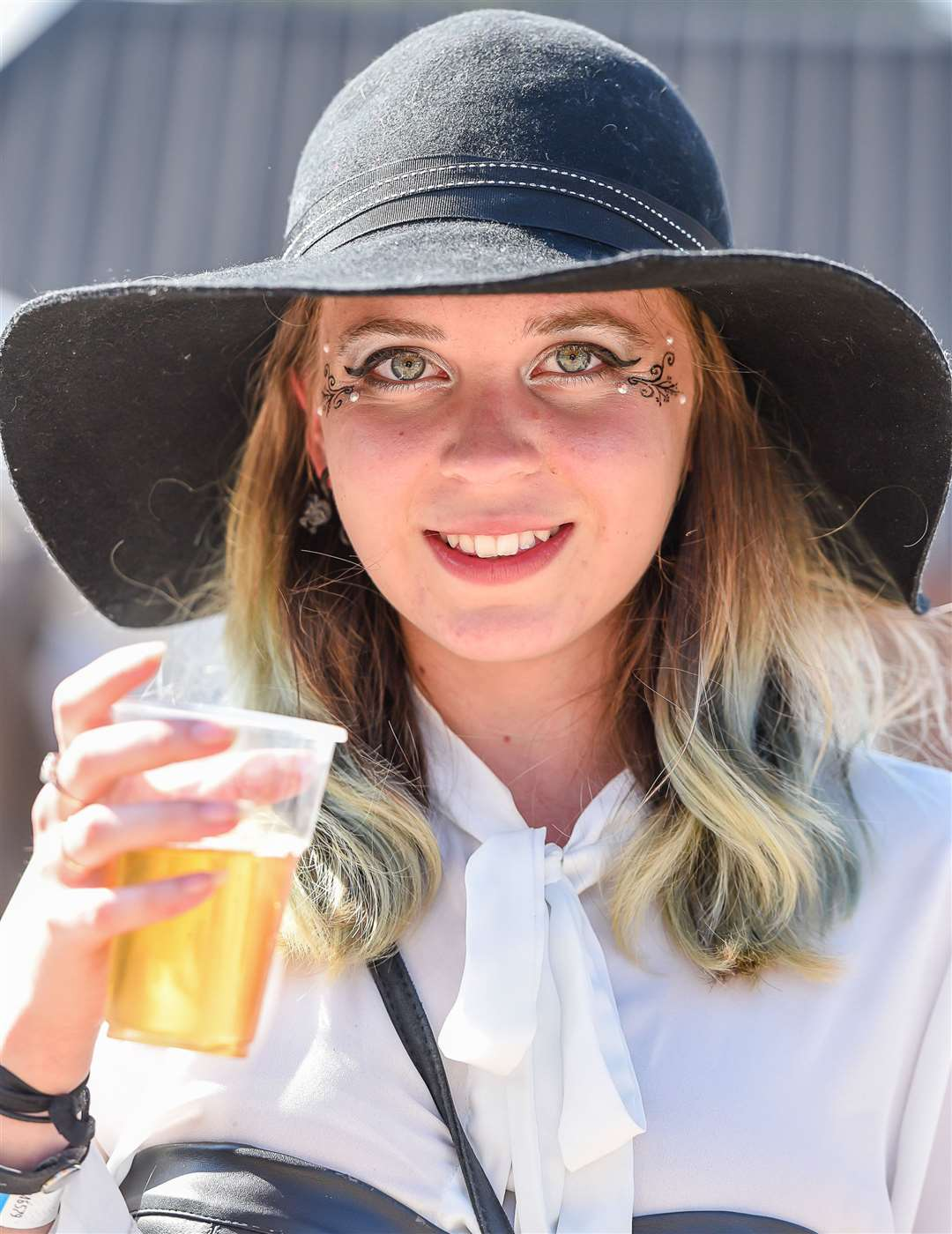 Festival goer Eliza Rose from Eastry at last year's festival Picture: Alan Langley