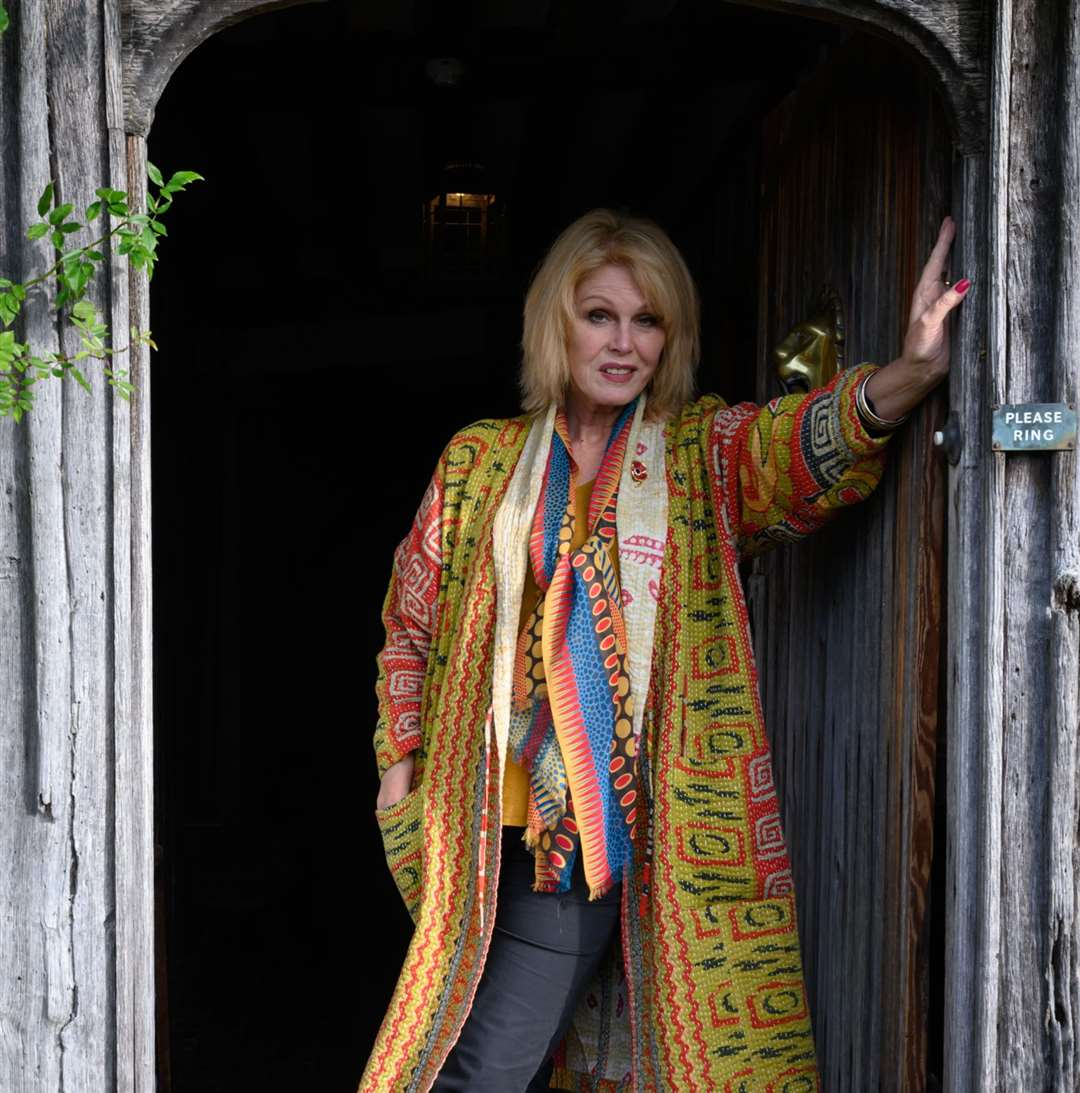 Joanna Lumley at Smallhythe Place, Tenterden Picture: National Trust/Peter Mould