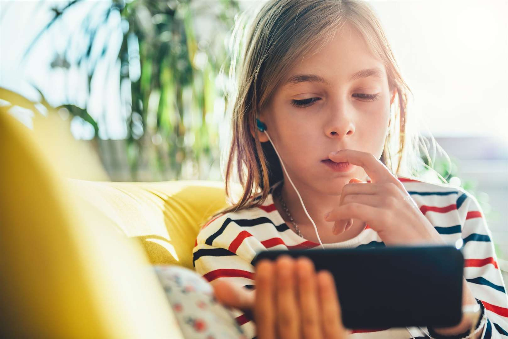 When should a child be given their first phone?