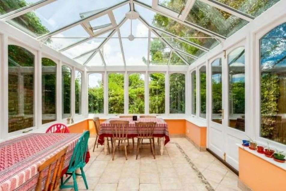 The conservatory. Picture: Zoopla / Freeman Forman
