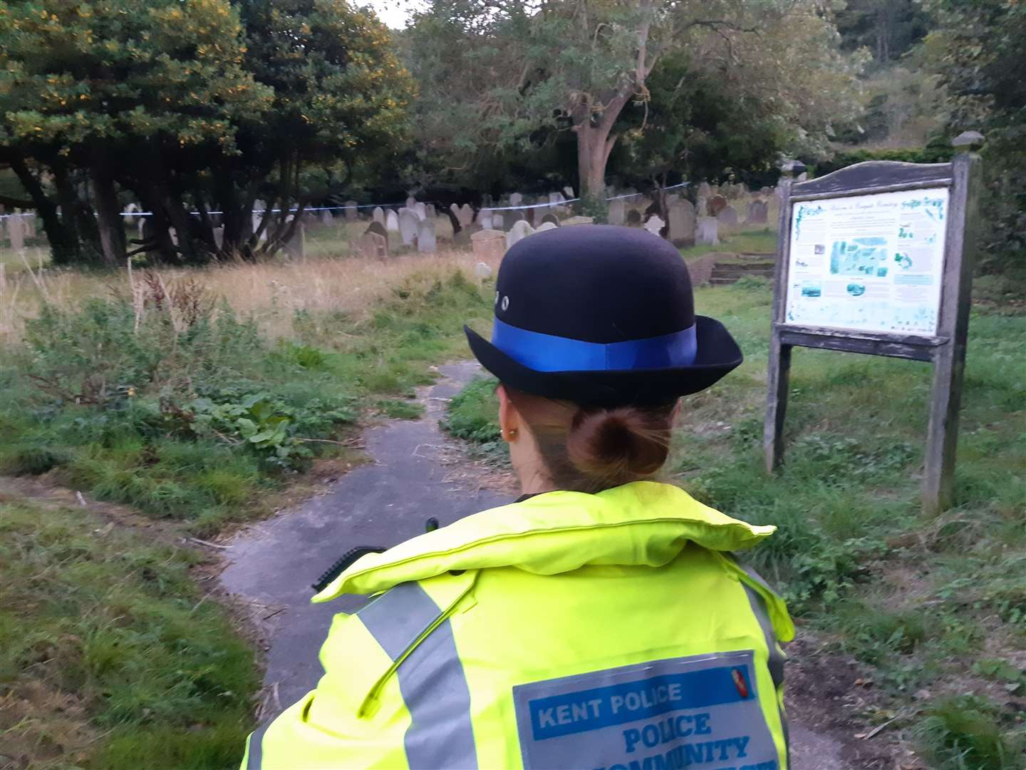 Cowgate Cemetery was closed for days as policed search for clues