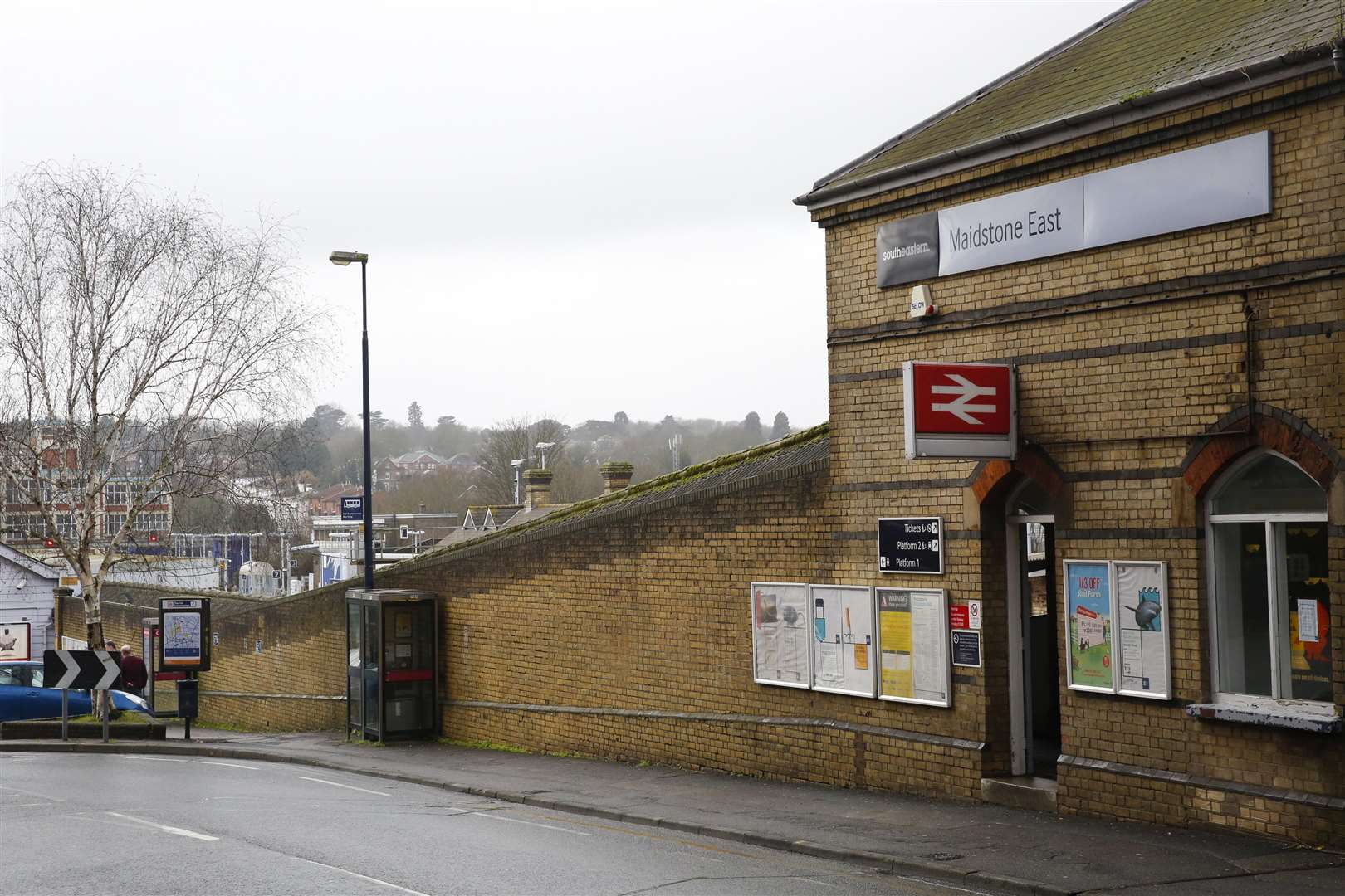 Maidstone East station will benefit from improved rail links, insists transport secretary Chris Grayling. Picture: Martin Apps