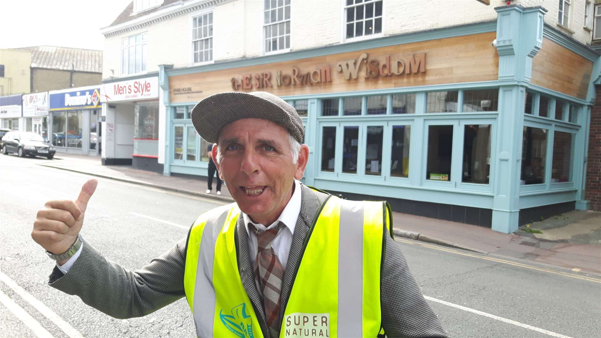 Glenn Ford outside the Sir Norman Wisdom in 2017. Picture: Sam Lennon.
