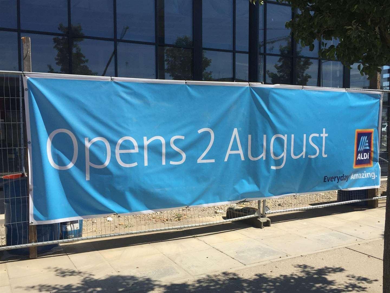 Aldi supermarket to open in Ashford in August