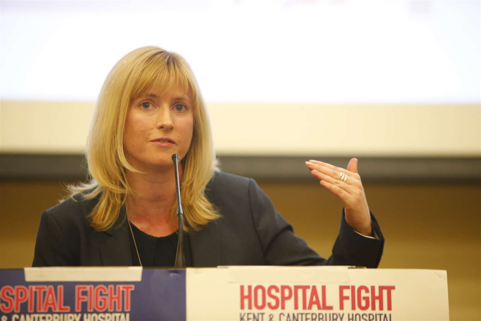 "Canterbury's Labour MP Rosie Duffield hopes the announcement is ""genuine"""