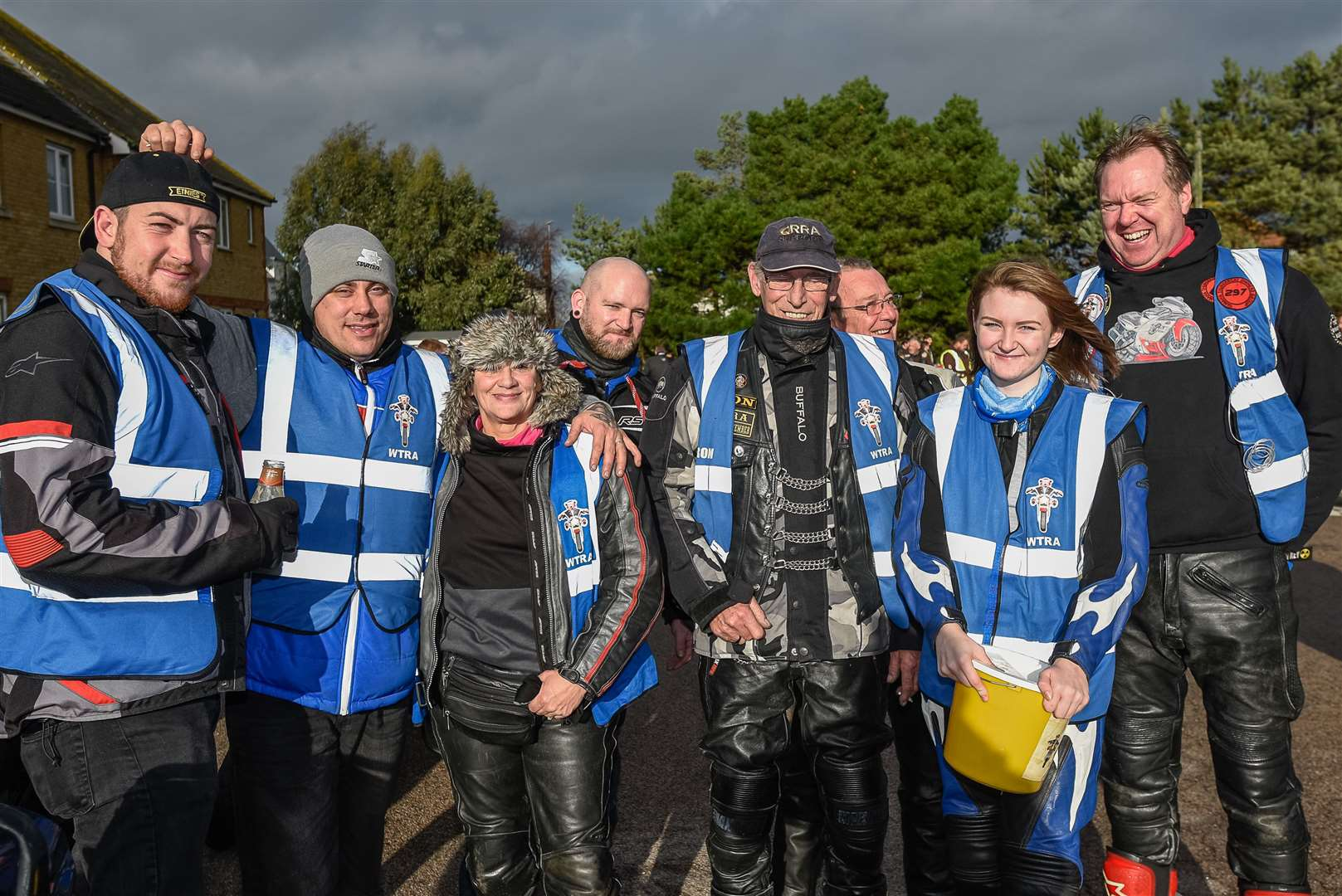 Whitstable Toy Run organisers, pictured in 2018. Picture: Alan Langley