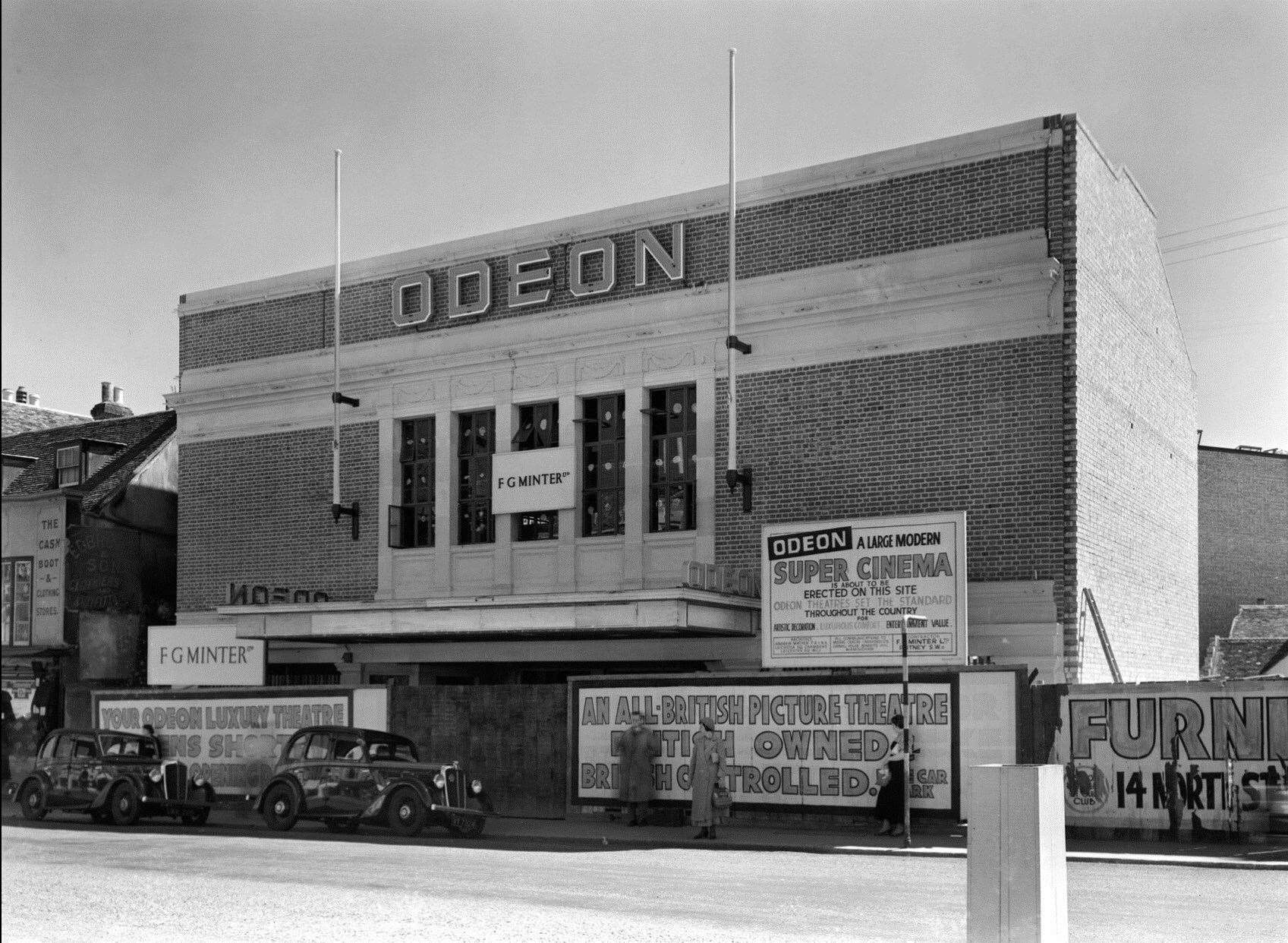 The former Odeon cinema in Ashford High Street that later become Mecca Bingo. Picture: Steve Salter