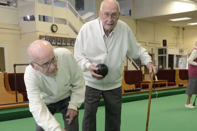 Friends could be the country's oldest players – and have no plans to stop