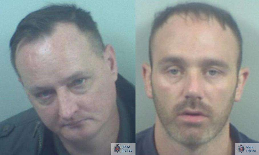 Armed robbers Ben Medhurst (left) and Anthony Sweetman have been jailed (2461054)