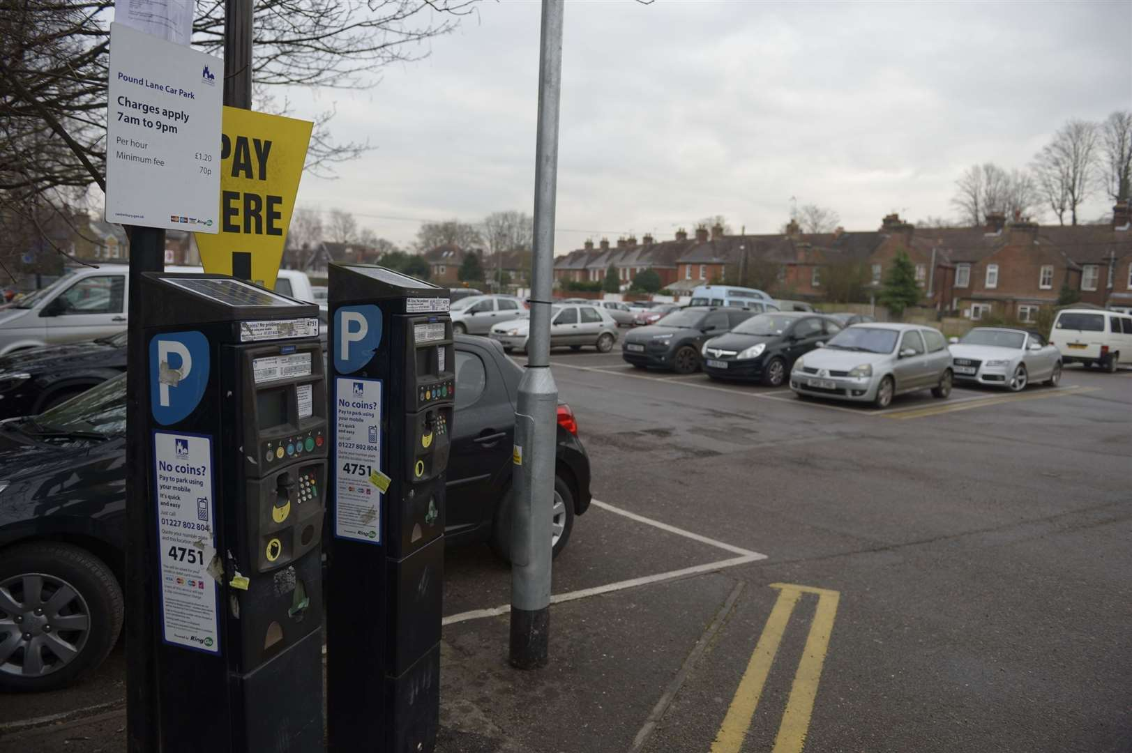 Pound Lane car park in Canterbury could be closed in the future
