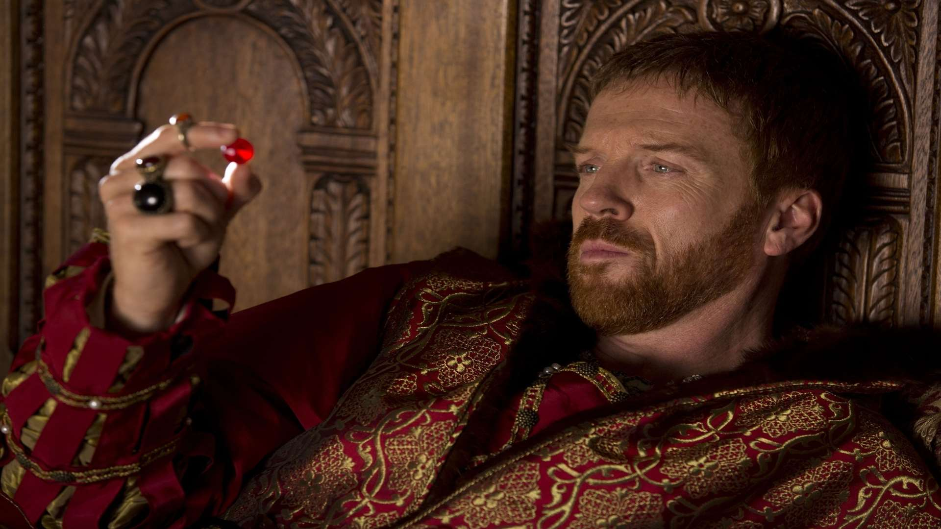 Damian Lewis as the formidable Henry VIII