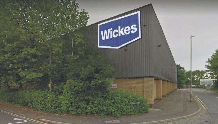 It would be the eighth Wickes in Kent