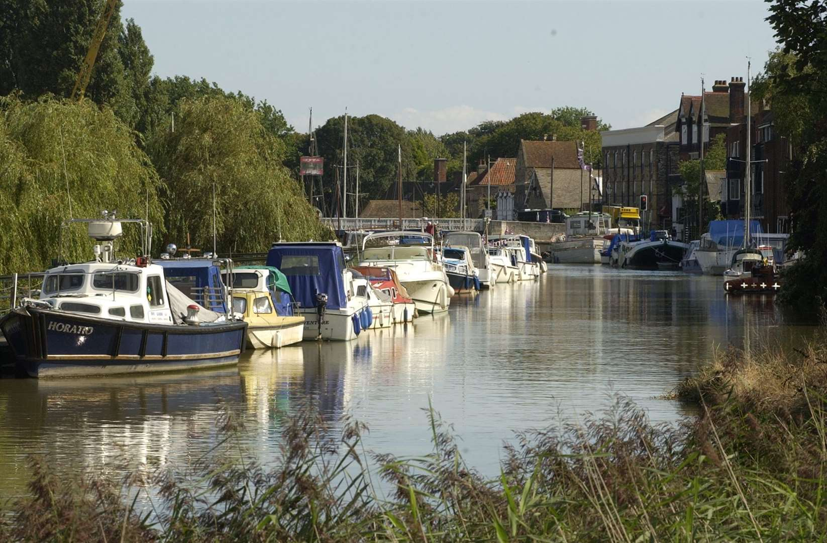 The river Stour at Sandwich. Picture by Terry Scott