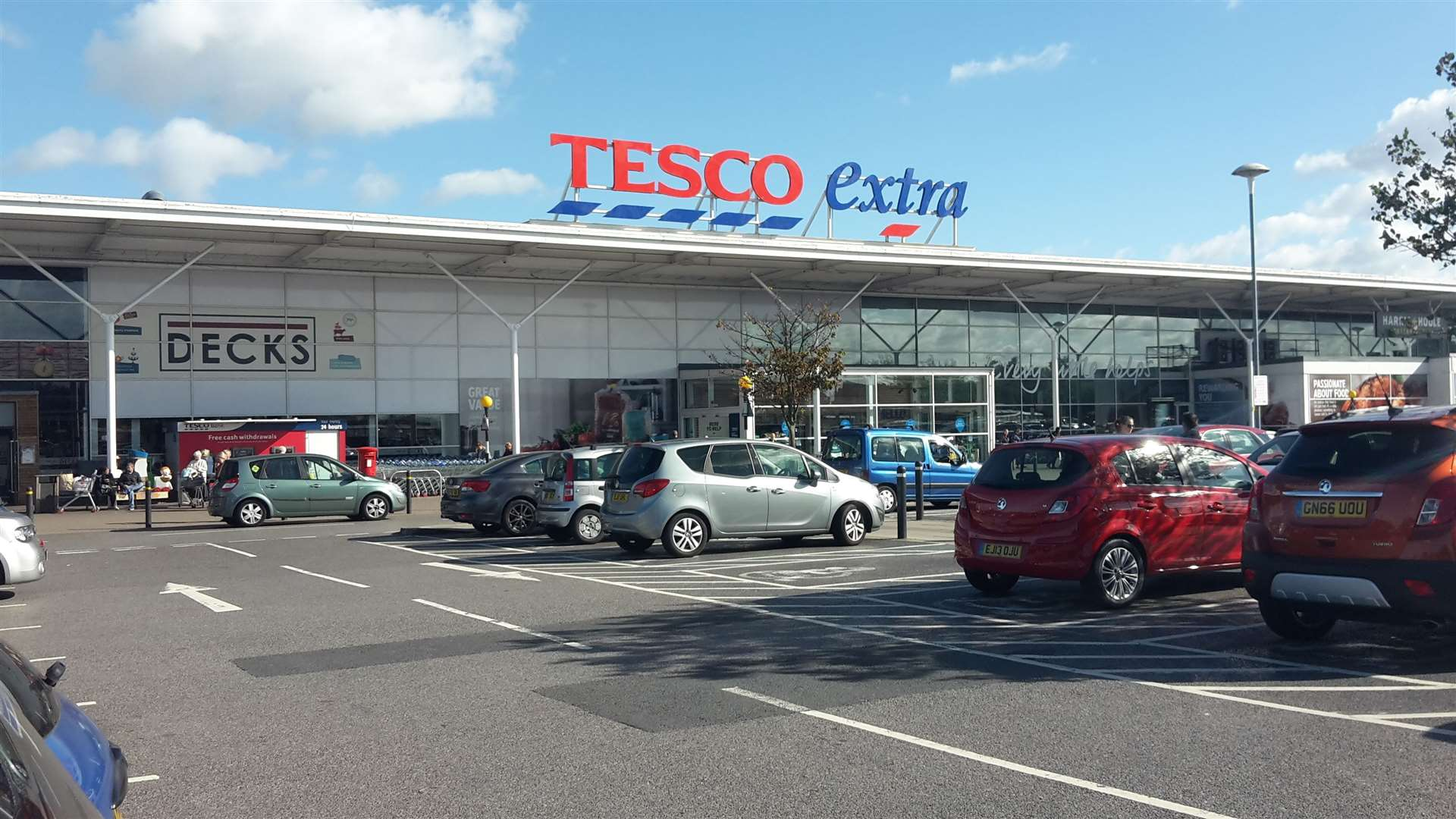 Tesco stores across Kent are giving away thousands of free meals to a charity that helps people in need. Stock picture