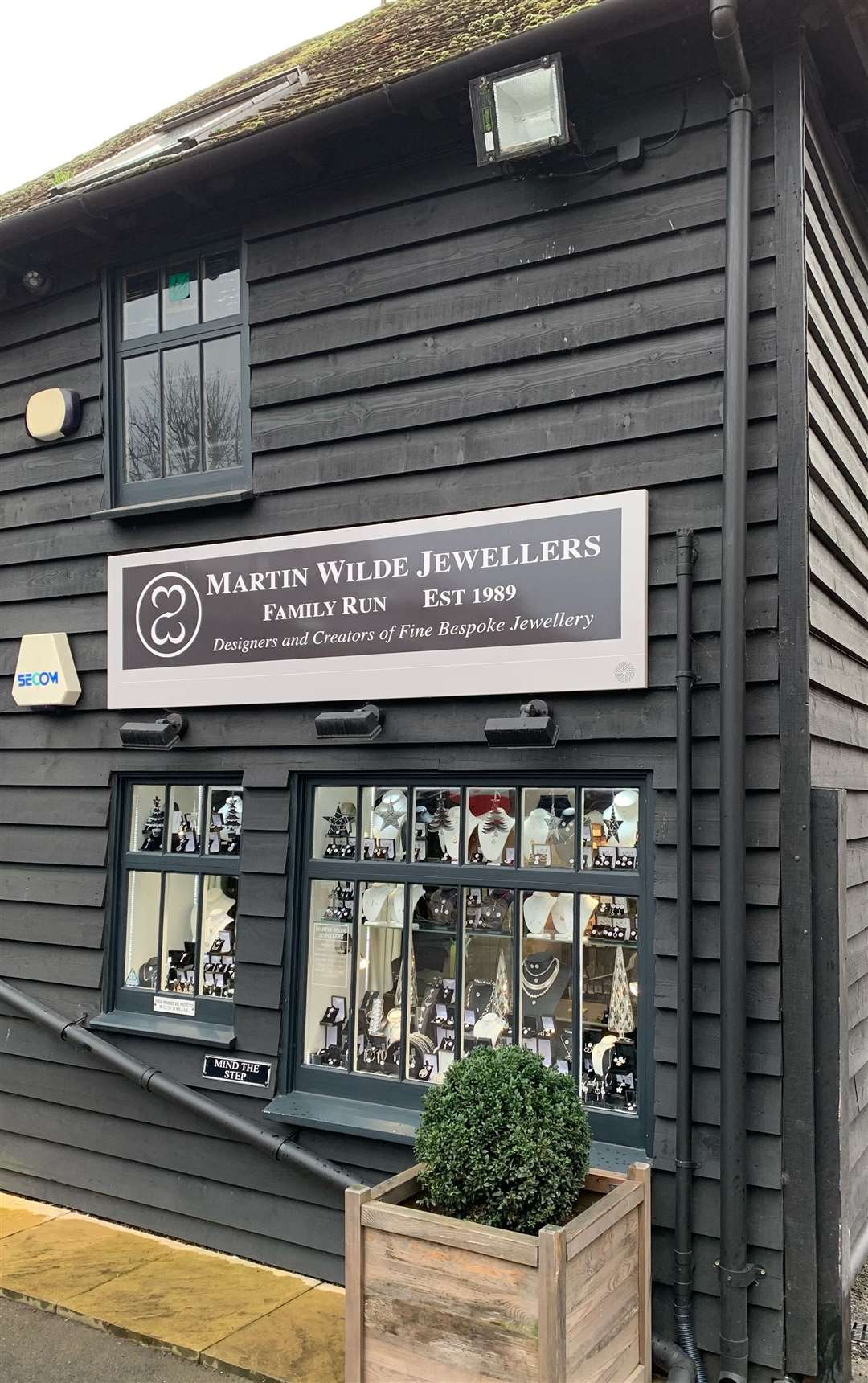 Martin Wilde Jewellers in Tonbridge