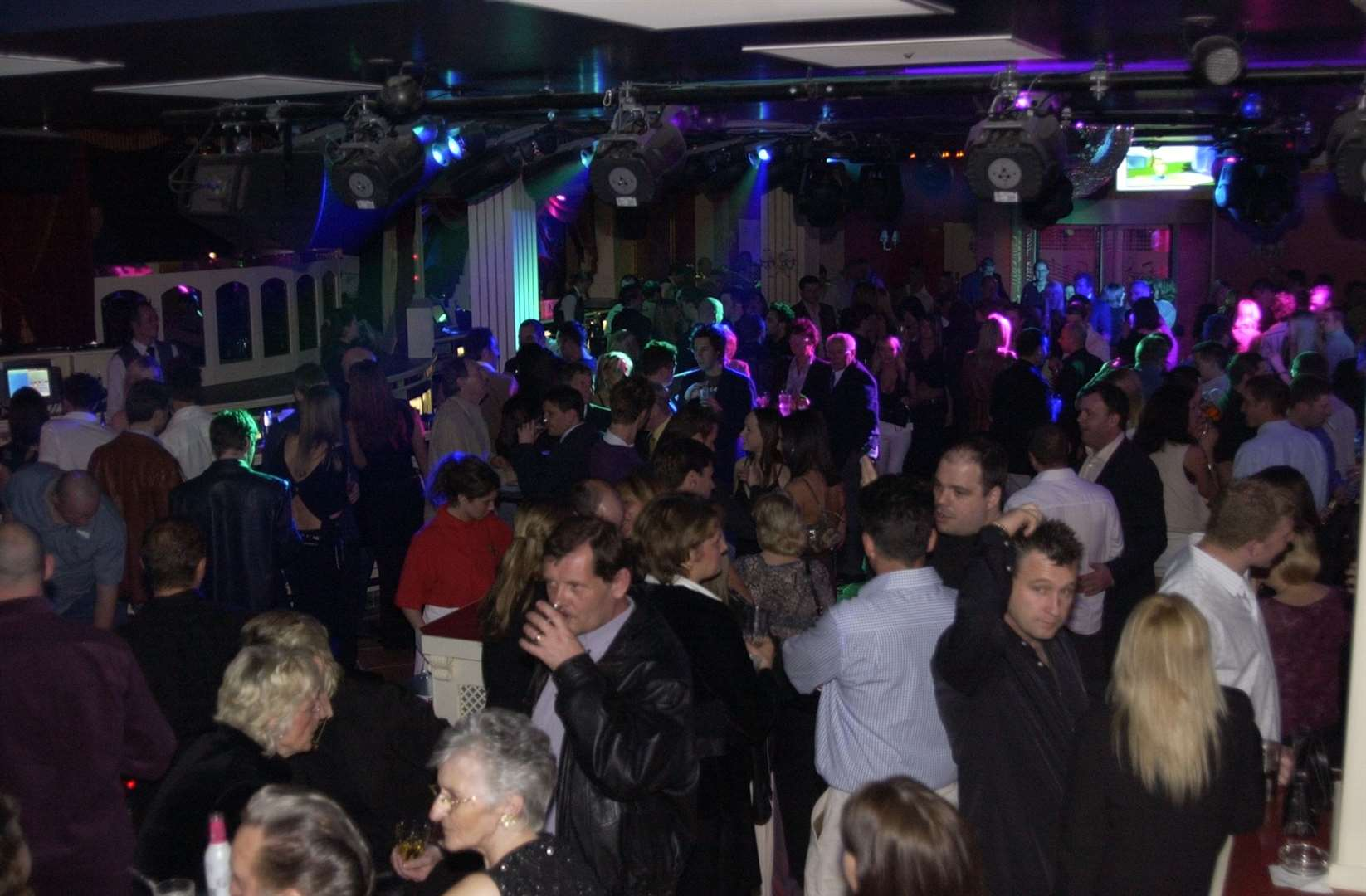 On the dance floor in Strawberry Moons Maidstone.