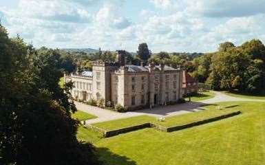 Chiddingstone Castle is among the venues getting support from the government